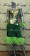 LATIN SALSA COMPETITION DRESS LDW (LS94) only on sale on latinodancewears.com