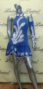 LATIN SALSA COMPETITION DRESS LDW (LS89) only on sale on latinodancewears.com