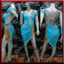 LATIN SALSA COMPETITION DRESS LDW (LT1297)