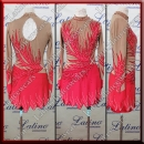 LATIN SALSA COMPETITION DRESS LDW (LT1305)