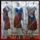 LATIN SALSA COMPETITION DRESS LDW (LT1308)