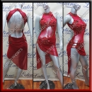 LATIN SALSA COMPETITION DRESS LDW (AL97)