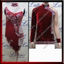 LATIN SALSA COMPETITION FOR COUPLE DRESS-SHIRT LDW (AL73/B309C)