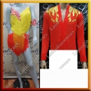 LATIN SALSA COMPETITION FOR COUPLE DRESS-SHIRT LDW (LS331/BA13A)