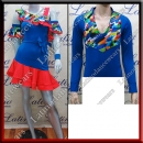 LATIN SALSA COMPETITION FOR COUPLE DRESS-SHIRT LDW (LT1241/B224A)