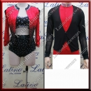 LATIN SALSA COMPETITION FOR COUPLE DRESS-SHIRT LDW (LT1266/B346)