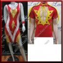 LATIN SALSA COMPETITION FOR COUPLE DRESS-SHIRT LDW (VL595/B361)