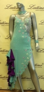 LATIN SALSA COMPETITION DRESS LDW (LS95) only on sale on latinodancewears.com