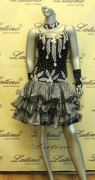 LATIN SALSA COMPETITION DRESS LDW (LS99) only on sale on latinodancewears.com