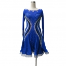 LATIN SALSA COMPETITION DRESS LDW (LT1335)