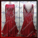 BALLROOM COMPETITION DRESS LDW (ST323A)