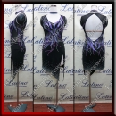 LATIN SALSA COMPETITION DRESS LDW (VL655)