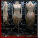 LATIN SALSA COMPETITION DRESS LDW (LS316D)