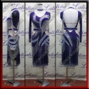 LATIN SALSA COMPETITION DRESS LDW (VL663)