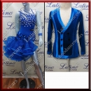 LATIN SALSA COMPETITION FOR COUPLE DRESS-SHIRT LDW (AL71/B312)