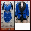 LATIN SALSA COMPETITION FOR COUPLE DRESS-SHIRT LDW (LT1258/B298A)