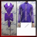 LATIN SALSA COMPETITION FOR COUPLE DRESS-SHIRT LDW (LT3014/B273)