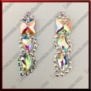 WOMAN LATIN SALSA BALLROOM EARRINGS (EA42)