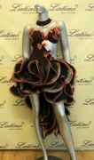 LATIN SALSA COMPETITION DRESS LDW (LS103) only on sale on latinodancewears.com