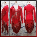 LATIN SALSA COMPETITION DRESS LDW (AL106)