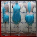 LATIN SALSA COMPETITION DRESS LDW (LS342B)