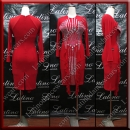 LATIN SALSA COMPETITION DRESS LDW (LT3017)