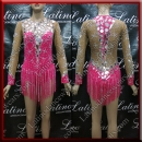 LATIN SALSA COMPETITION DRESS LDW (LS395B)