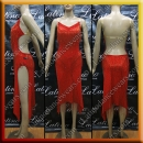 LATIN SALSA COMPETITION DRESS LDW (LT1286B)
