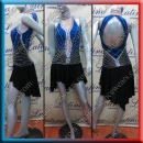 LATIN SALSA COMPETITION DRESS LDW (VL617A)