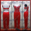 LATIN SALSA COMPETITION CATSUIT LDW (LT1366)
