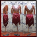 LATIN SALSA COMPETITION DRESS LDW (LT1367)