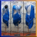 LATIN SALSA COMPETITION DRESS LDW (LT3030)