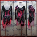 LATIN SALSA COMPETITION DRESS LDW (LT1231B)