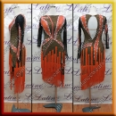 LATIN SALSA COMPETITION DRESS LDW (LT3032)