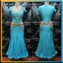 BALLROOM COMPETITION DRESS LDW (ST1015)