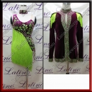 LATIN SALSA COMPETITION FOR COUPLE DRESS-SHIRT LDW (AL73B/B424C)