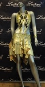LATIN SALSA COMPETITION DRESS LDW (LS105) only on sale on latinodancewears.com