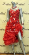 LATIN SALSA COMPETITION DRESS LDW (LS110) only on sale on latinodancewears.com