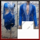 LATIN SALSA COMPETITION FOR COUPLE DRESS-SHIRT LDW (LT3030/B455)
