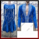 LATIN SALSA COMPETITION FOR COUPLE DRESS-SHIRT LDW (VL669/B455)