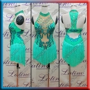 LATIN SALSA COMPETITION DRESS LDW (LT1401)