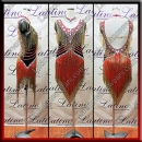 LATIN SALSA COMPETITION DRESS LDW (VL695)