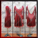 LATIN SALSA COMPETITION DRESS LDW (LT1308A)