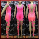 LATIN SALSA COMPETITION CATSUIT LDW (LT1404)