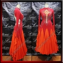 BALLROOM COMPETITION DRESS LDW (ST1020)