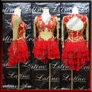 LATIN SALSA COMPETITION DRESS LDW (LT1416)