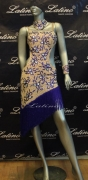 LATIN SALSA COMPETITION DRESS LDW (LS104) only on sale on latinodancewears.com