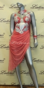LATIN SALSA COMPETITION DRESS LDW (LS109) only on sale on latinodancewears.com