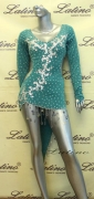 LATIN SALSA COMPETITION DRESS LDW (LS121) only on sale on latinodancewears.com