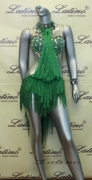 LATIN SALSA COMPETITION DRESS LDW (LS125) only on sale on latinodancewears.com